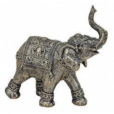 Elefant Bronze 18cm Polyresin