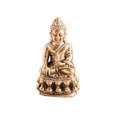 Medizinbuddha Miniatur 3cm Messing