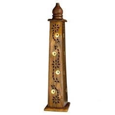 Yin Yang Holz Turmhalter