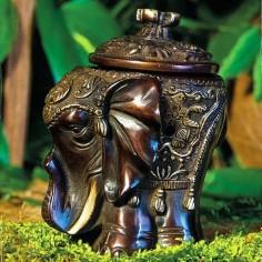 Elefant Räucherprachtgefäss