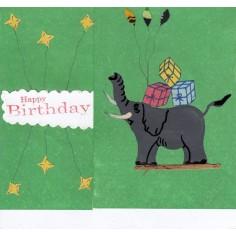 Geburtstags Karte Elefant