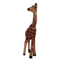 Giraffe aus Holz
