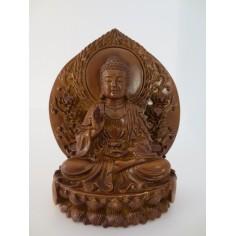 Buddha auf Lotusthron