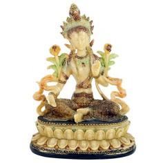 Grüne Tara weiblicher Buddha