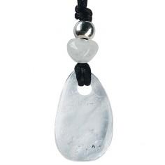 Kraftstein-Anhänger Bergkristall (Klarheit)