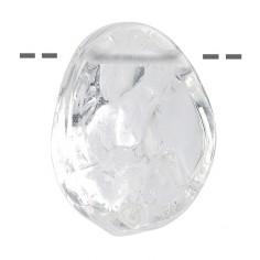 Bergkristall Anhänger gebohrt