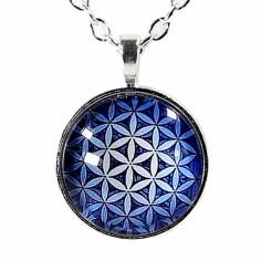 Halskette Blume des Lebens