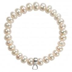 Perlen Armband mit Charmhalter