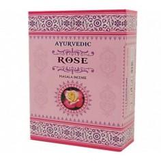 Rose Ayurvedische Räucherstäbchen Masala premium
