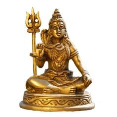 Shiva 10cm Messing