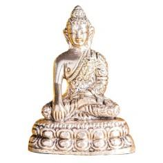 Shakyamuni Buddha versilbert