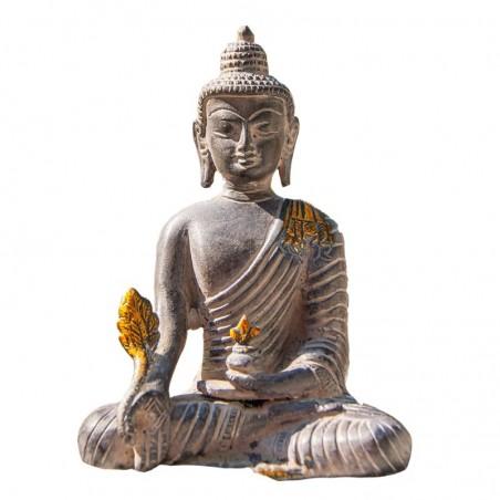Buddha weiß glücklich Duftset für Räucherstäbchen