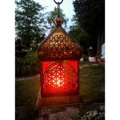 Orientalisches Licht Blume des Lebens gold