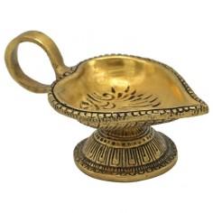 Orientalische Öllampe herzform