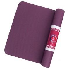 Yogi & Yogini TPE Yogamatte violett/anthrazit