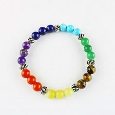 Armband Chakra mit Beads