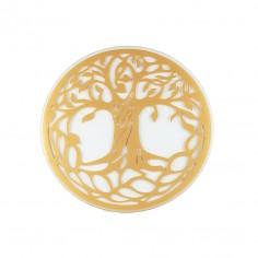 Glas Untersetzer Baum des Lebens 9cm