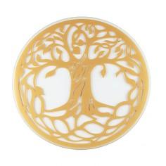 Glas Untersetzer Baum des Lebens 19cm